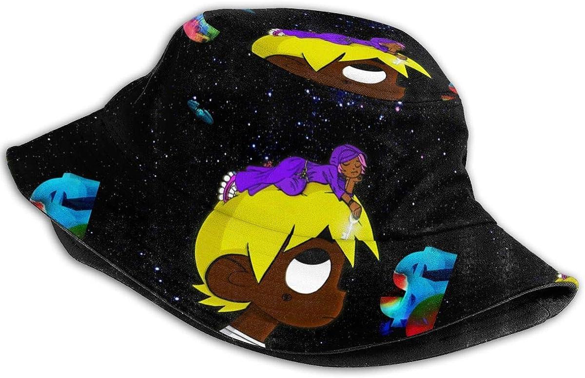 Cubierta eterna Atake The World 2 Lil-Uzi=Vert Vert Unisex al aire libre Casual Impreso Pescador Sombrero de viaje Sombrero de playa Sombrero