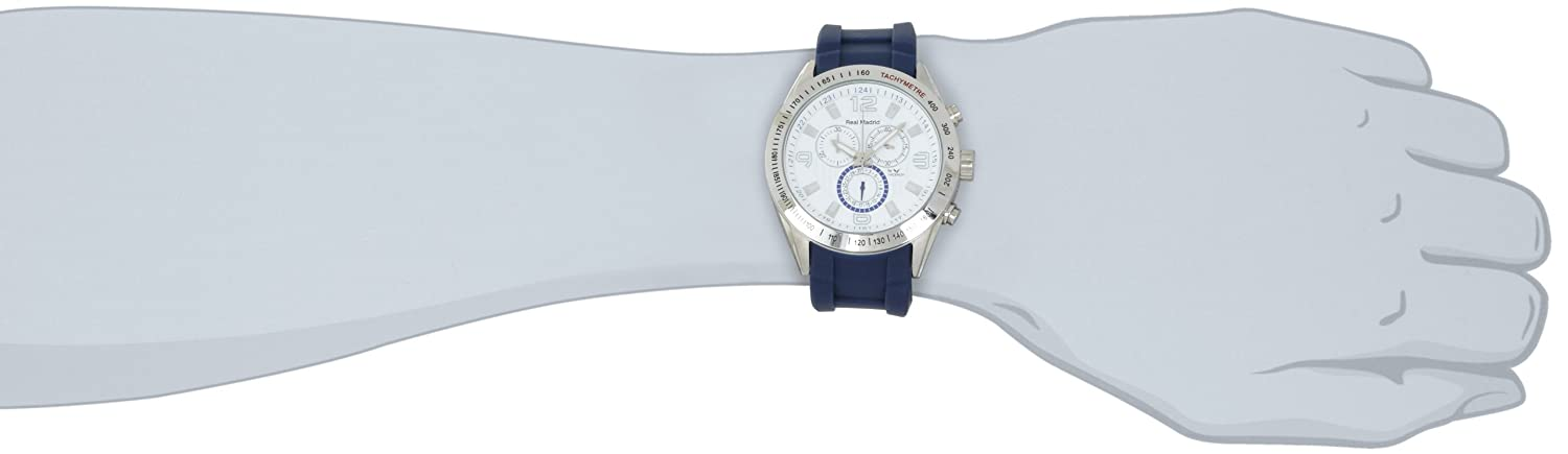 Amazon.com: Viceroy Mens Real Madrid 432835-05 Blue Chronograph Watch: Watches
