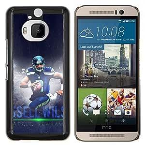 Stuss Case / Funda Carcasa protectora - Seahawk Fútbol - HTC One M9Plus M9+ M9 Plus