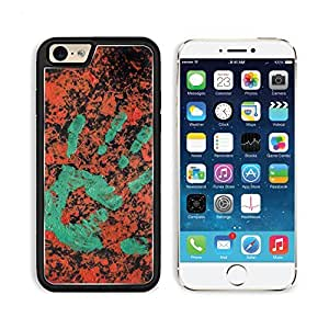 Hand Abstract Painting 3DCom iPhone 6 Cover Premium Aluminium Design TPU Case Open Ports Customized Made to Order