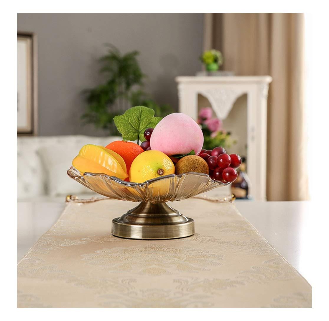 SGKJJ ヨーロッパの創造的な装飾的な装飾品ドライフルーツの道具家庭用品日用品透明なフルーツプレートガラス -164 フルーツバスケット   B07NWJ5HH4