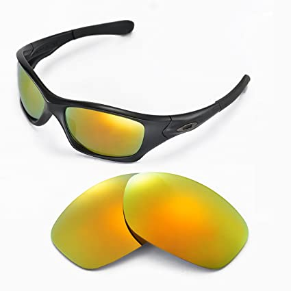 470e8cbff69 Walleva Replacement Lenses for Oakley Pit Bull Sunglasses - Multiple  Options Available (24K Gold Mirror