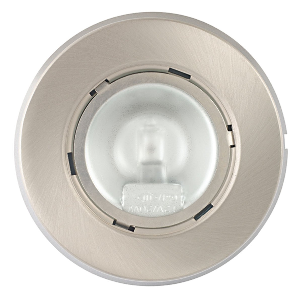 Globe electric 20w xenon puck light brushed nickel finish 39 inch globe electric 20w xenon puck light brushed nickel finish 39 inch connecting cable bulb included 25662 tools home improvement amazon canada aloadofball Gallery