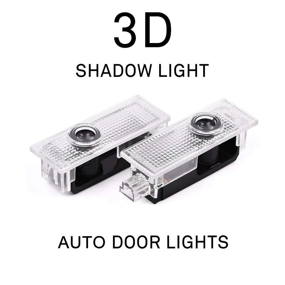 WJTRK1 Ghost Shadow Light Car Welcome Logo Door Light Car Door LED Logo Projector for BMW,4PCS