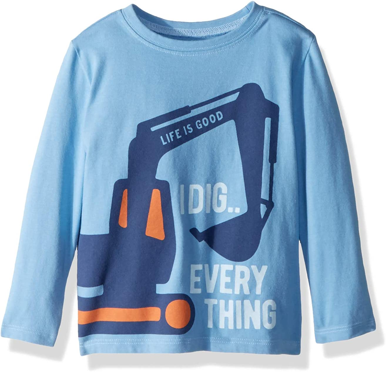 Life is Good Boys Longsleeve Toddler Tee I Dig Everything