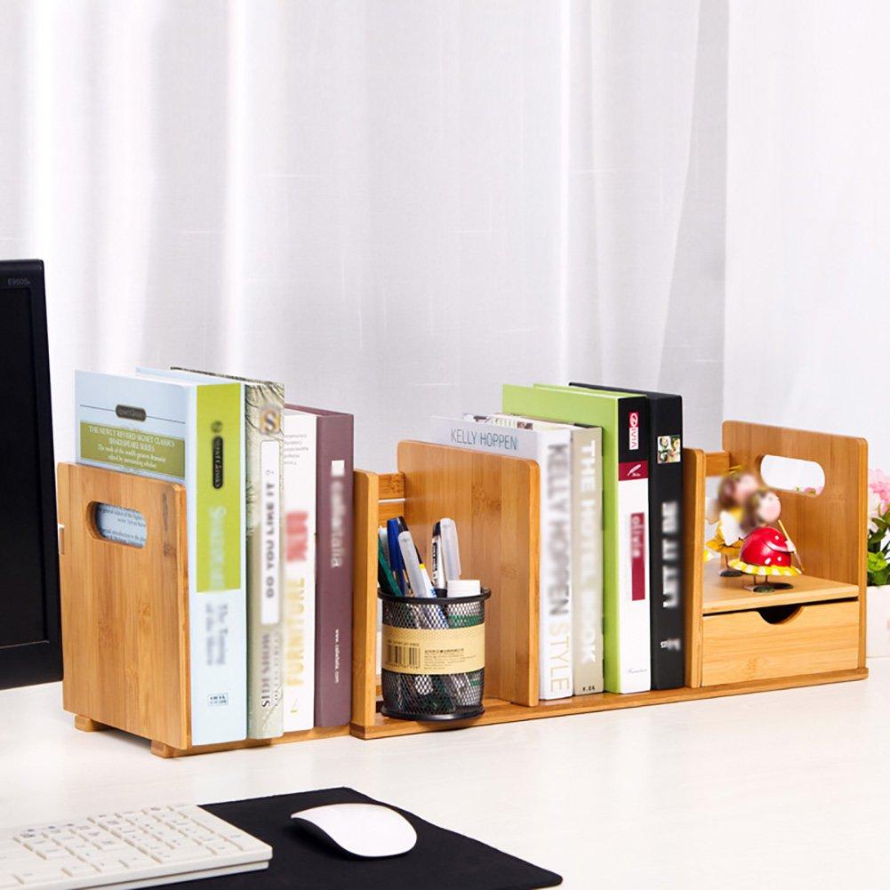 Storage rack Office Desk Simple Bookshelf Creative Student Mini Telescopic Small Shelf (Size : A)