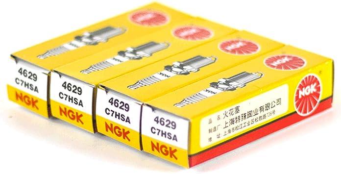 4x Ngk C7hsa Spark Plugs 4629 Ngk4629x4 46294 Auto