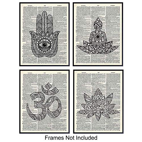 Unframed Dictionary Wall Art Prints product image