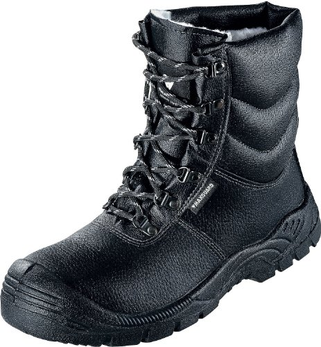 Max Guard A800Bottes d'hiver noir S3CI