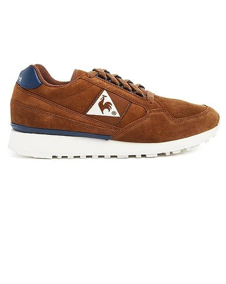 Le Coq Sportif - Zapatillas de deporte para hombre marrón marrón (camel) 44: Amazon.es: Zapatos y complementos