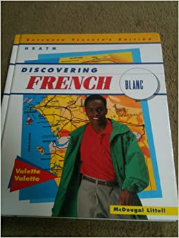 Discovering french blanc online book