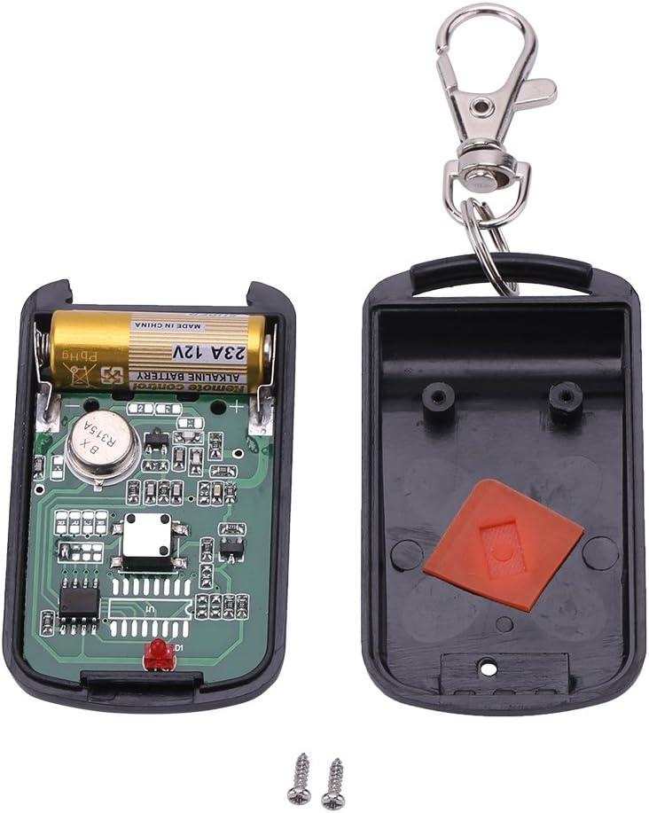 T/él/écommande Universel Clonage Portail Electrique Garage Ouvreur portatif sans Fil de Porte d/émetteur de 1 Bouton