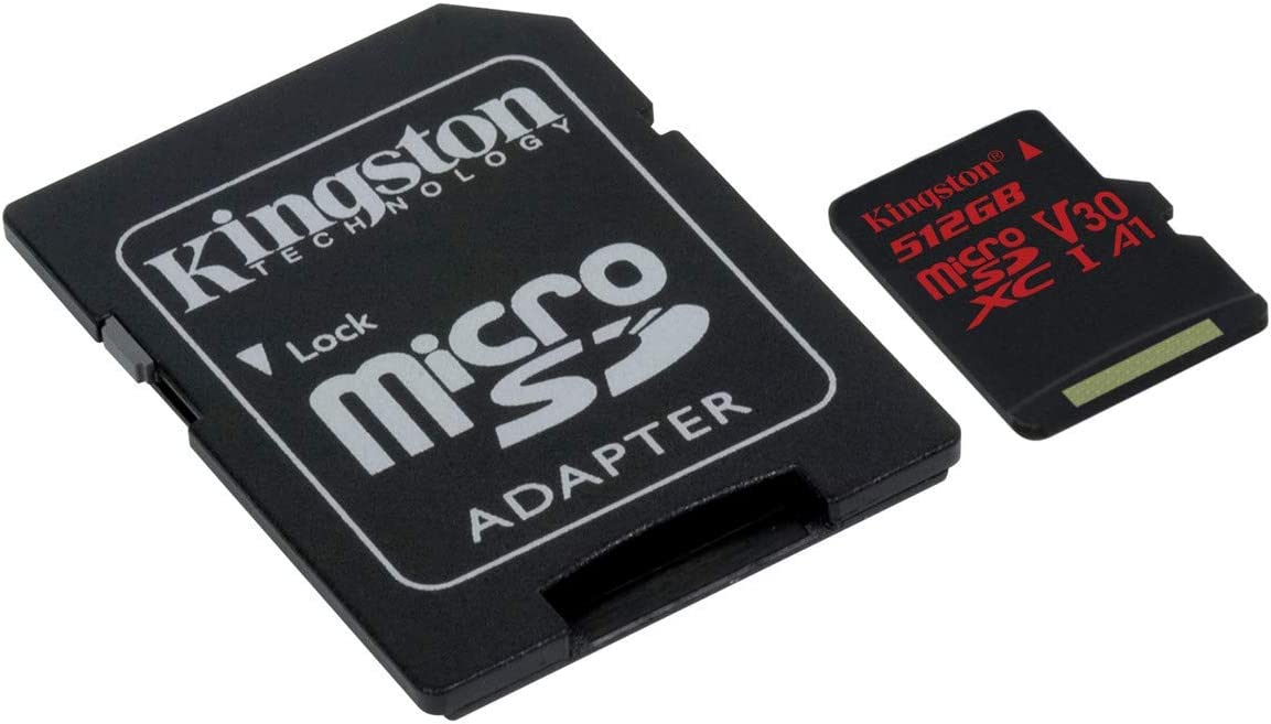 80MBs Works with Kingston Professional Kingston 512GB for Sony J9110 MicroSDXC Card Custom Verified by SanFlash.