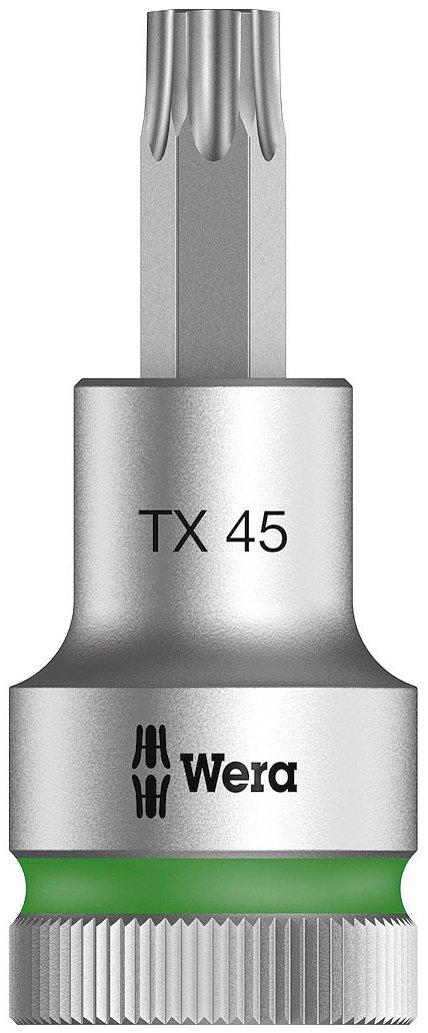 Wera 05003835001 8767Â  Cyclops C HF Torx Bit Socket 1/2Â  Inch Drive with Holding Function, Silver WERA TOOLS