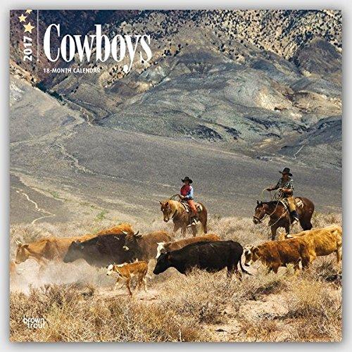 Cowboys 2017 - 18-Monatskalender: Original BrownTrout-Kalender [Mehrsprachig] [Kalender] (Wall-Kalender)