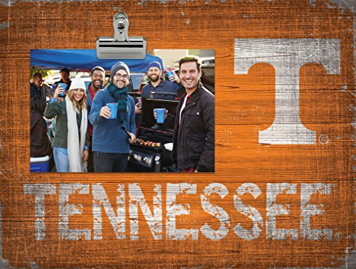 Fan Creations NCAA Tennessee Volunteers Team Name Clip-It Photo Frame