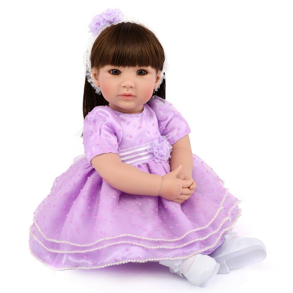ファッションの PURSUEBABY 安い リアルなルッキング幼児人形 20インチ ロングヘアプリンセスマイア付き 幼児用 20インチ 生きているようなウェイトのリボーンドール 幼児用 PURSUEBABY B07GFDNNMT, 大口市:4de6b715 --- pmod.ru
