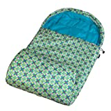 Wildkin Spring Kaleidoscope Stay Warm Outdoor Sleeping Bag, One Size, Outdoor Stuffs