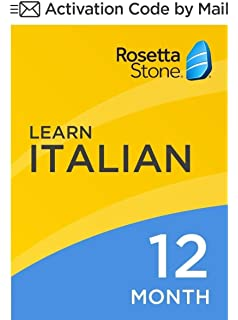 Amazon com: Rosetta Stone V3: Italian Level 1 with Audio Companion
