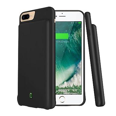b8e7422d88d modernway iPhone 7 Plus recargable caso, 7000 Mah portátil Batería  extendida estuche de carga para iPhone ...