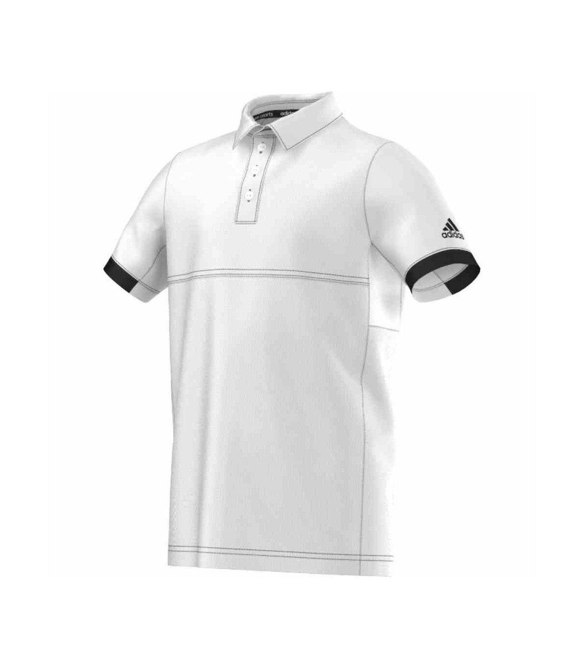 adidas T16 Climacool Polo Junior (Blanco/Negro), Blanco: Amazon.es ...