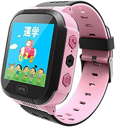 Q528 Reloj inteligente para niños con pantalla táctil de 1,44 pulgadas, monitor antipérdida, reloj de seguimiento GPS para localización de llamadas