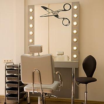 Amazon Mairgwall Hair Salon Mirror Decal Barber Window Decor