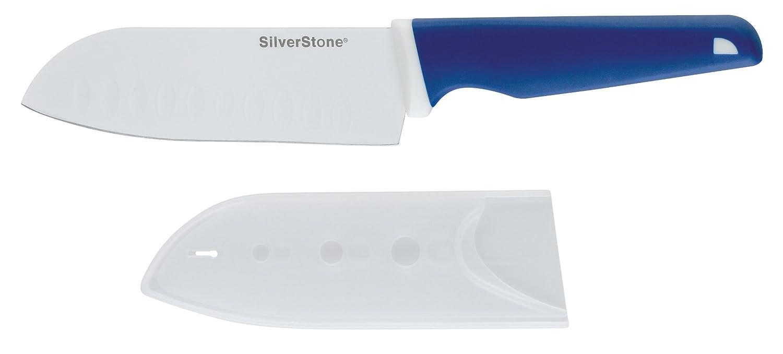 Silverstone 5-Inch Santoku Knife, Blue Meyer Group Ltd. 55045