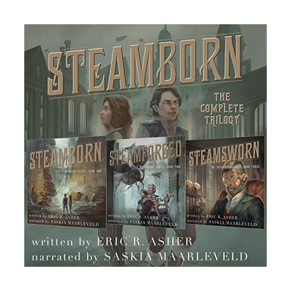 Steamborn: The Complete Trilogy Box Set 3