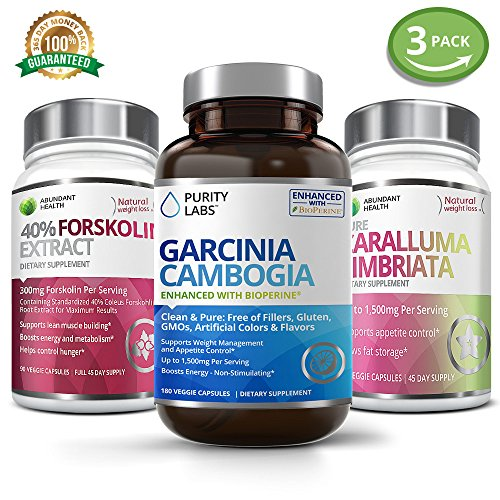 3 Bottle Bundle - Save an Extra 15% on Garcinia Cambogia,...