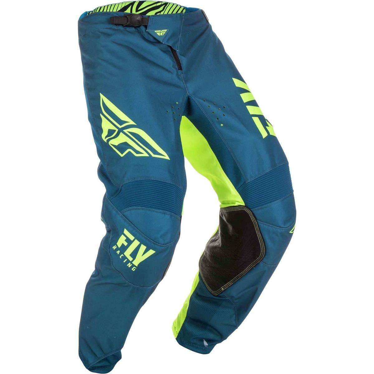 Fly Racing 2019 Youth Kinetic Pants - Shield (26) (Navy/HI-VIZ)