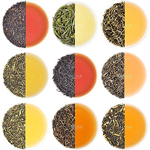 Organic Tea Sampler - 10 Teas - Individually Packaged, Assorted Premium Variety Loose Leaf Teas (50 Cups), Garden Fresh Teas, Grown, Packaged & Shipped Direct from Source, Perfect Tea Gift (Yogi Tea Assortment)