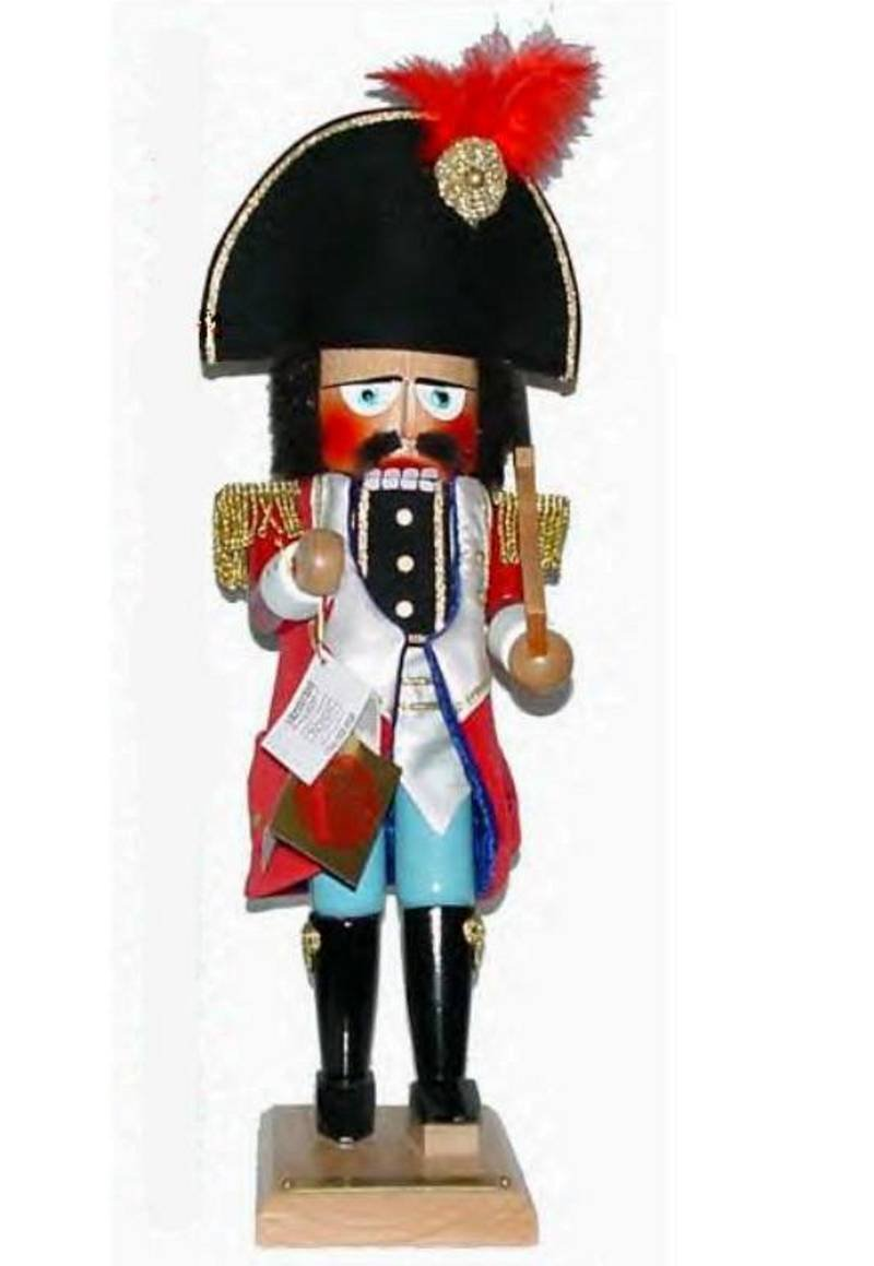 1st Steinbach Family Nutcracker Ballet SeriesToy Soldier Nutcracker Signed by Late Herr Christian Steinbach