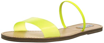 e0ae8e1de77 Steve Madden Women s Dasha Sandal Yellow 6 M US