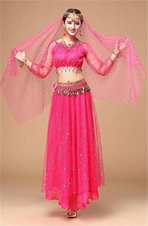 peiwen La India Dance Performance Disfraces Traje/Stage ...