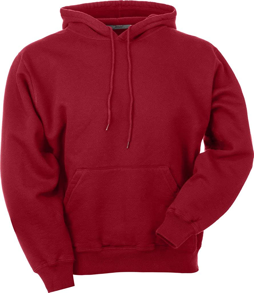 JustSweatshirts Unisex Pullover 100% Cotton Hooded Sweatshirt at ...