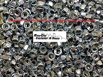 50 M8-1.0 Metric FINE Thread Hex Nut Stainless Steel 8mm Nuts With 13 Hex