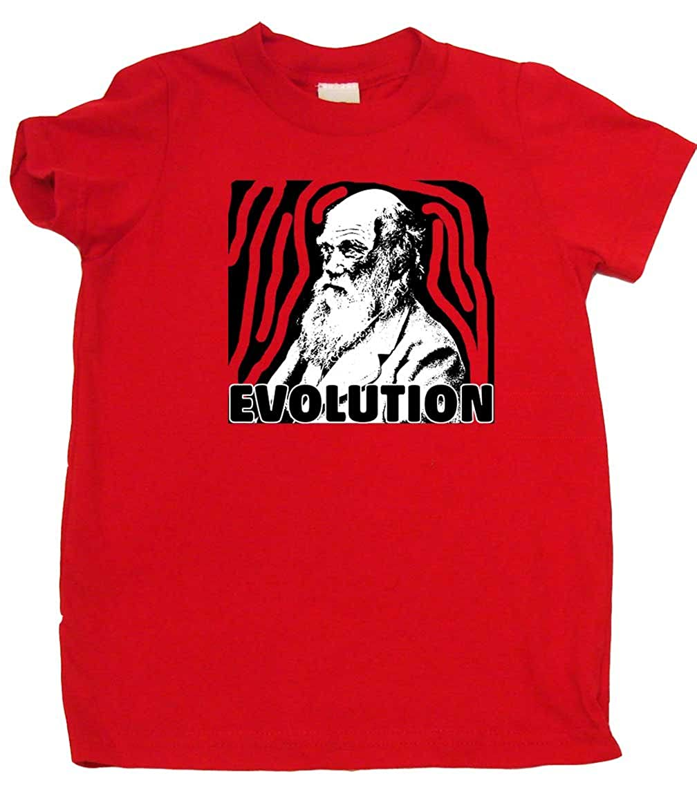 Great Baby Gift Charles Darwin Evolution Awesome Toddler Boy Or Girl T-Shirts