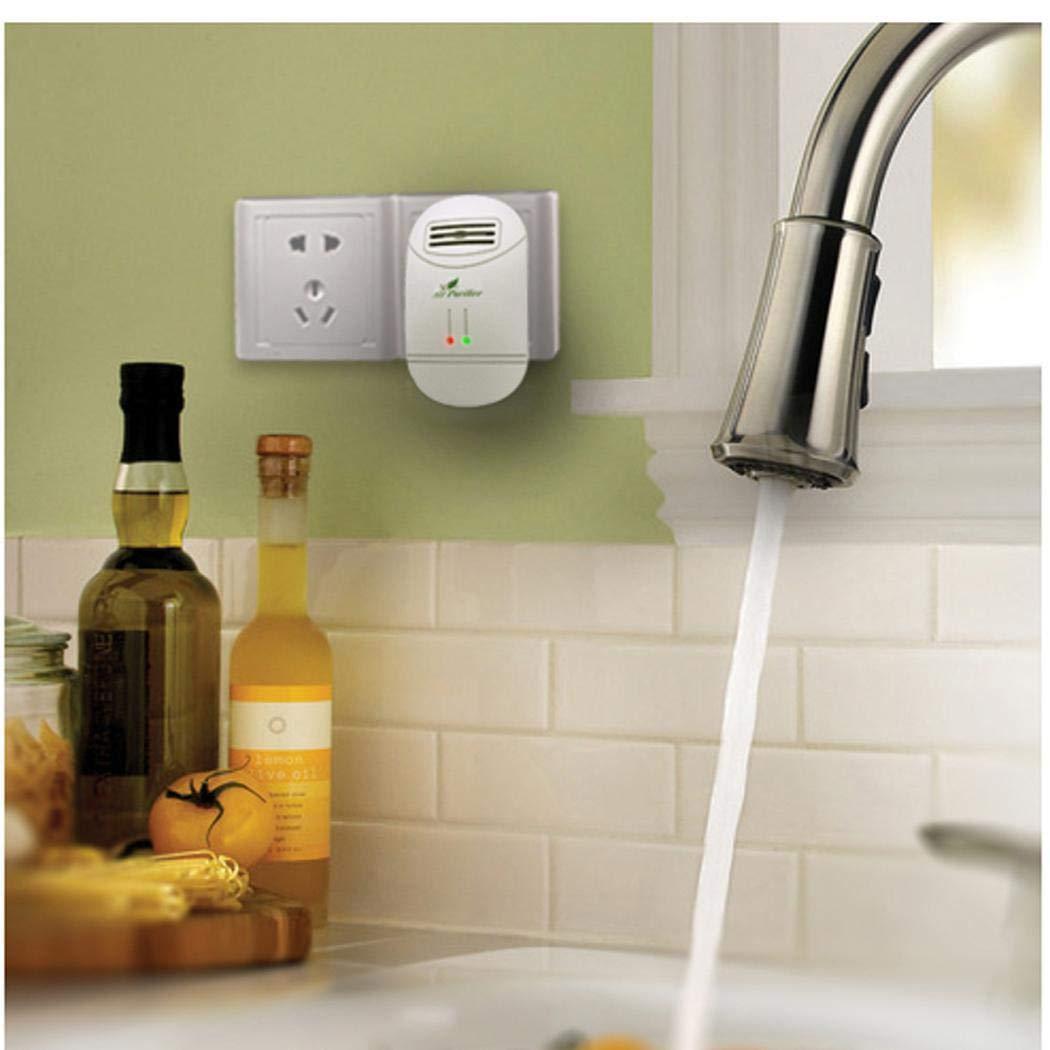 Orland Plug Mini Air Purifier Freshener Reduces Odors Dust Home Travel Odor Allergies Eliminator