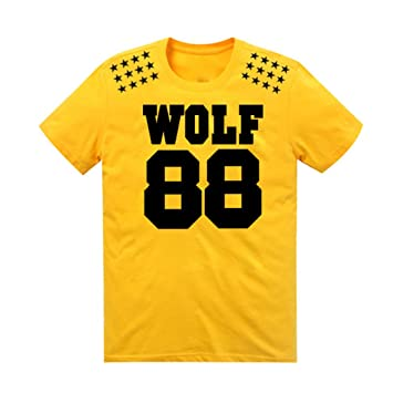 Amazon.com: EXO Kpop T Shirt Manga XOXO wolf88 SBS Costume ...