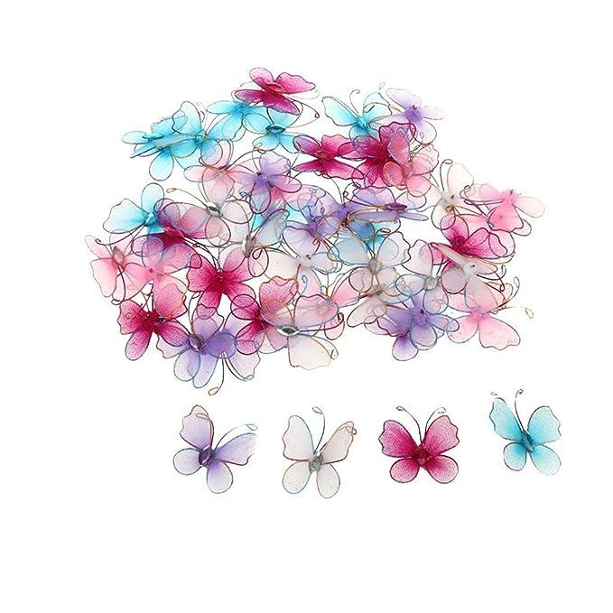 LUOEM Strumpf Schmetterling Schmuck für Hochzeiten künstliche ...
