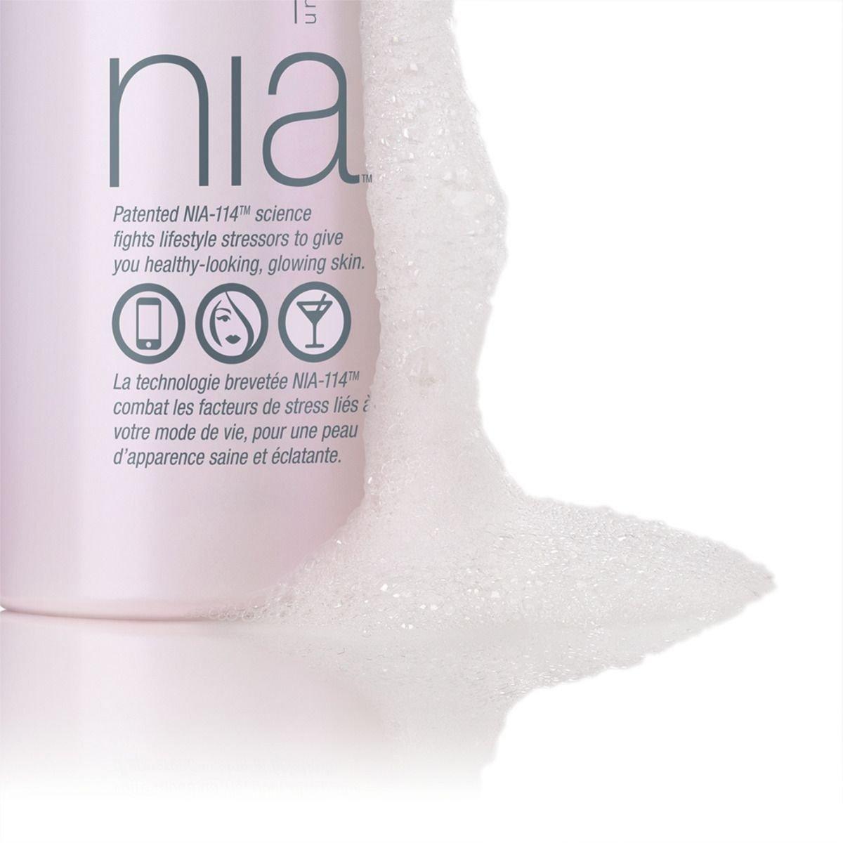 Espuma de limpieza hidratante Nia Wash and Glow, 150 ml: Amazon.es: Belleza