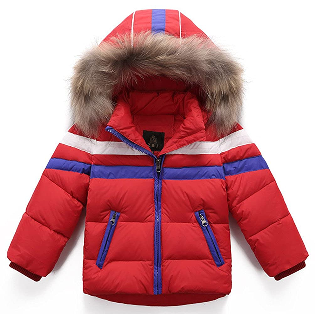 Beyond© Kids Boys Girls Down Coat Hooded jacket Zip Winter Coat