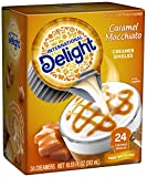 International Delight, Caramel Macchiato, Single-Serve Coffee Creamers, 24 Count (Pack of 6), Shelf Stable Non-Dairy Flavored Coffee Creamer, Great for Home Use, Offices, Parties or Group Events