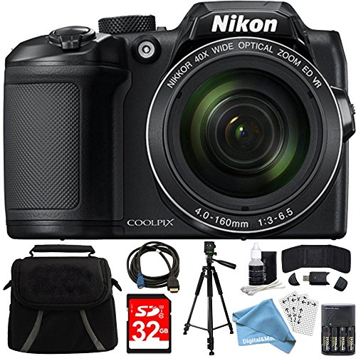 Nikon COOLPIX B500 16MP 40x Optical Zoom Digital Camera 32GB
