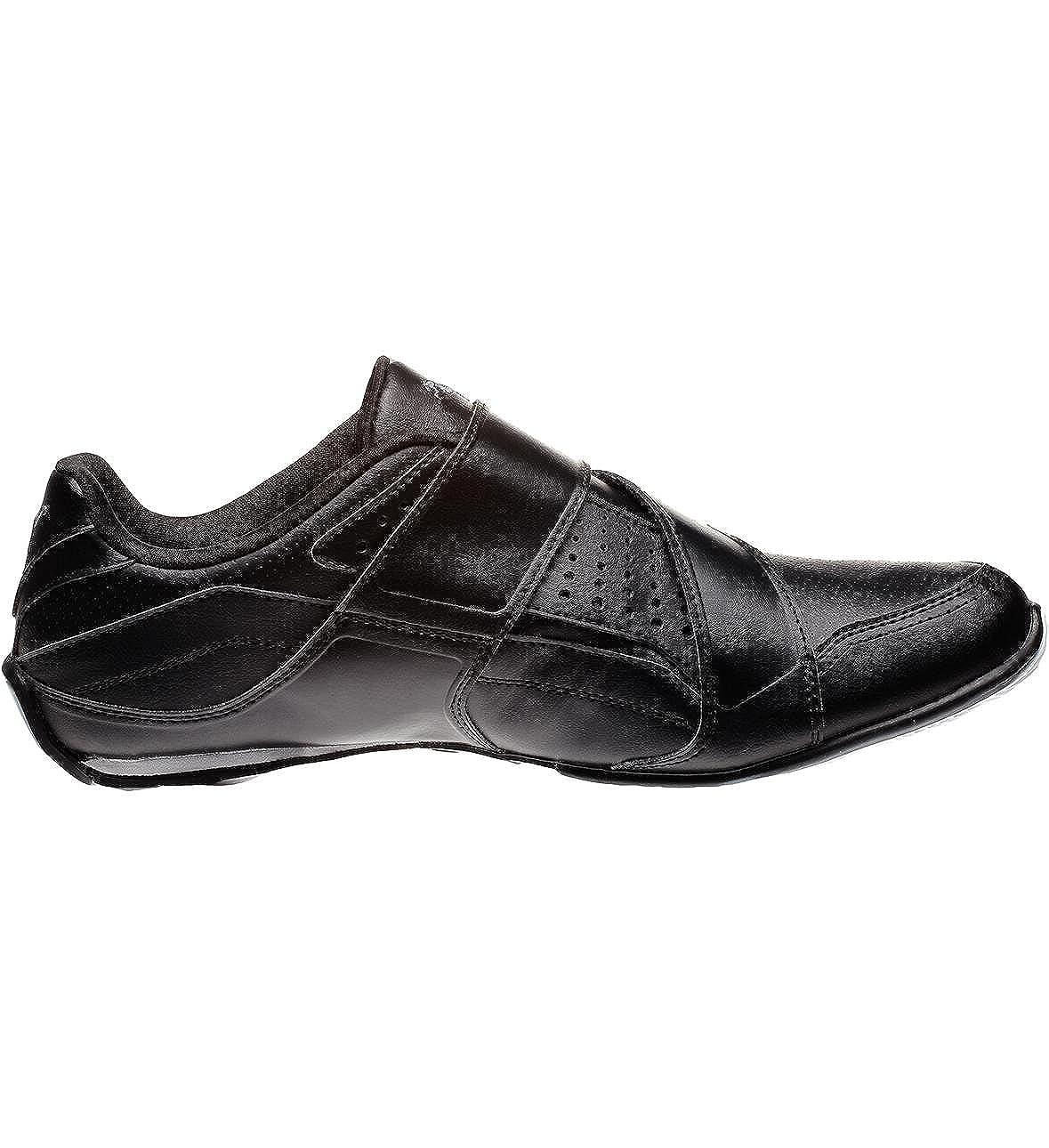 Puma Attaq Mens Velcro Black Sports Fashion Trainers (6 UK