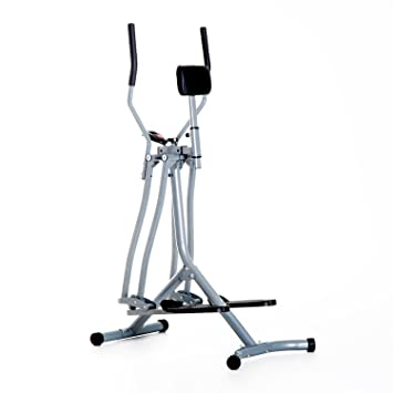 c109858fe750 HOMCOM Air Walker Glider Cross Trainer Home Gym Fitness Exercise Machine  with LCD