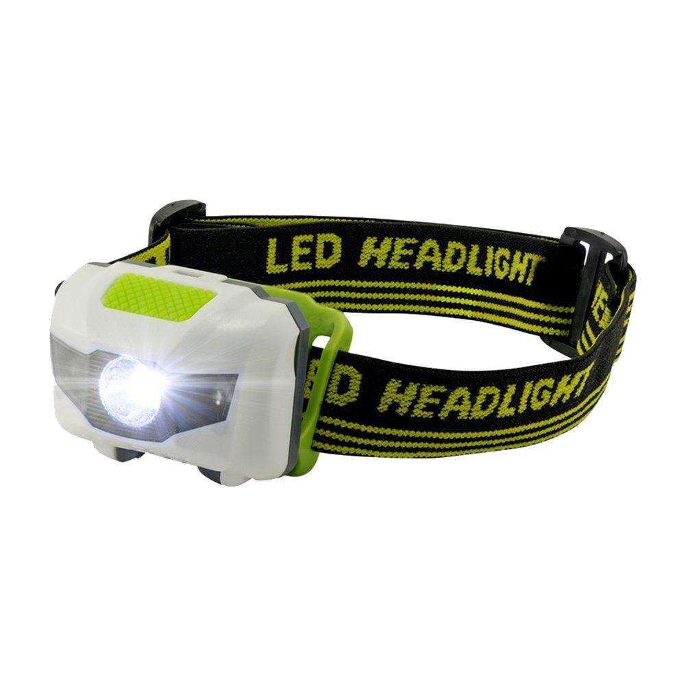 BulzEU LED L/ámpara de Cabeza Head Linterna antorcha 3 llev/ó Agua y Choque Resistente con estrobosc/ópio Rojo para la Pesca al Aire Libre de Senderismo