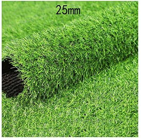 XEWNEG 庭の人工的な芝生芝生25ミリメートル高、排水穴付き、快適な柔らかい偽の芝生、屋外の結婚式のシーンの装飾、幅2メートル (Size : 2x2m)
