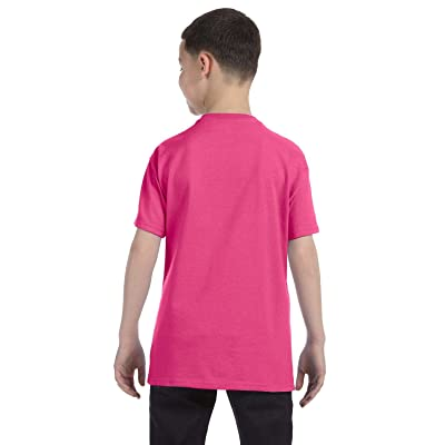 Hanes Boys' 5 Pack Ultimate Comfortsoft Crew, Wow Pink